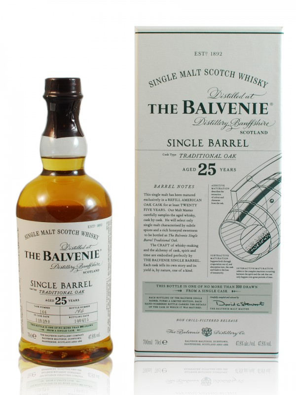 Balvenie 25 Jahre Single Barrel