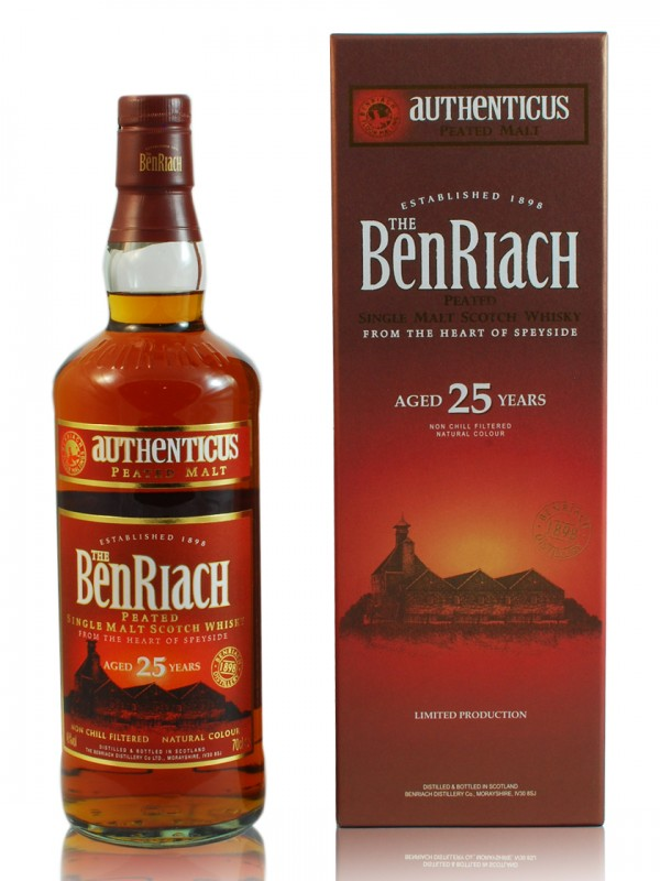 BenRiach 25 Jahre Authenticus