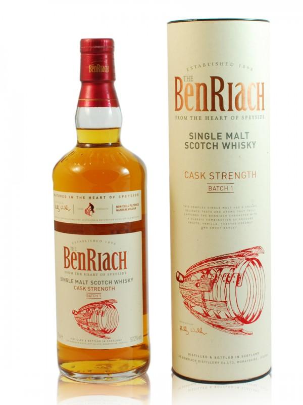 BenRiach Cask Strength Batch 001