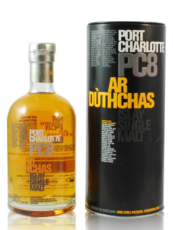 Bruichladdich Port Charlotte PC8 Ar Duthchas