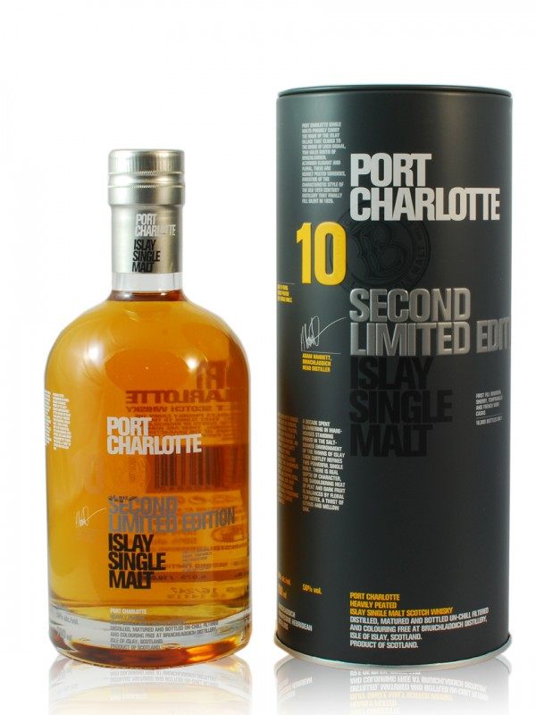Bruichladdich Port Charlotte 10 Jahre Second Edition