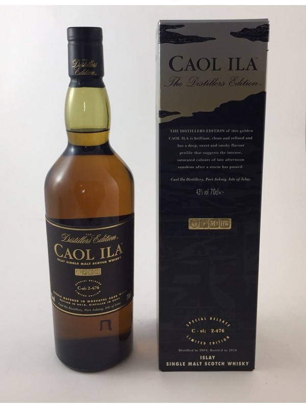 Caol Ila Distillers Edition 2004 / 2016