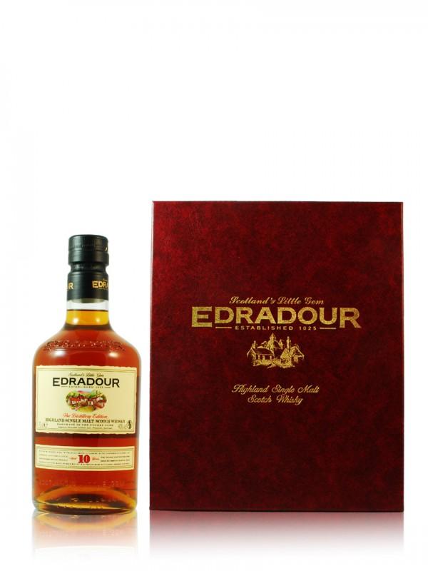 Edradour 10 Jahre Distiller's Edition Geschenkset
