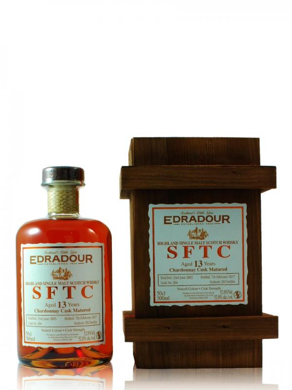 Edradour SFTC 13 Jahre Chardonnay Cask