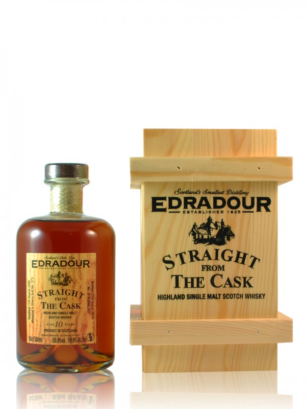 Edradour Straight from the Cask Sherry Wood Matured 2008