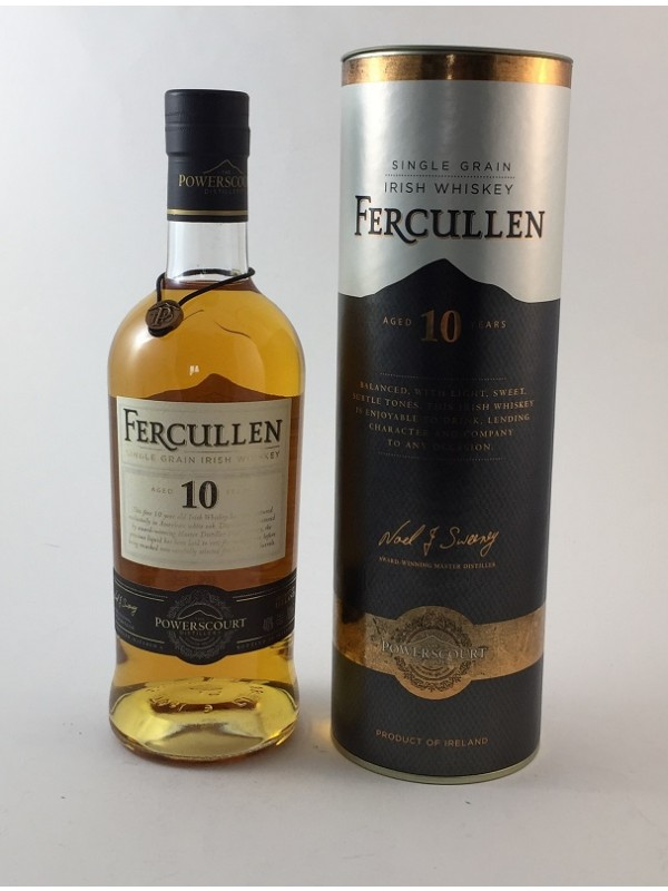 Fercullen 10 Jahre - Single Grain Whiskey