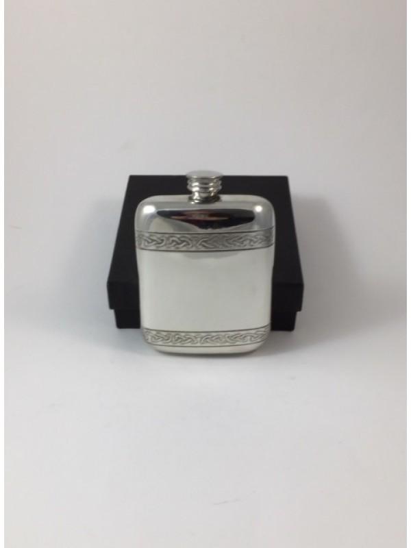 Flachmann Keltisches Band, ca. 112 ml