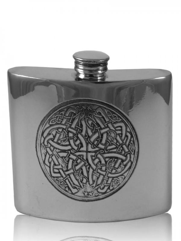 Flachmann keltischer Kreis, ca. 177 ml