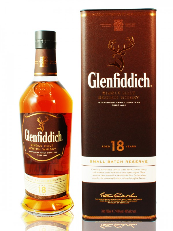 Glenfiddich 18 Jahre - Small Batch Reserve