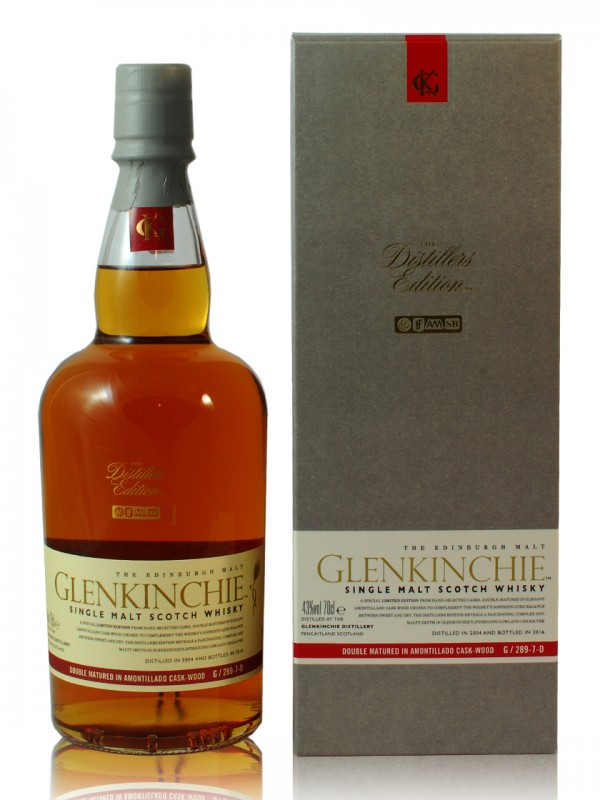 Glenkinchie Distiller's Edition Amontillado Sherry Finish 2004 / 2016