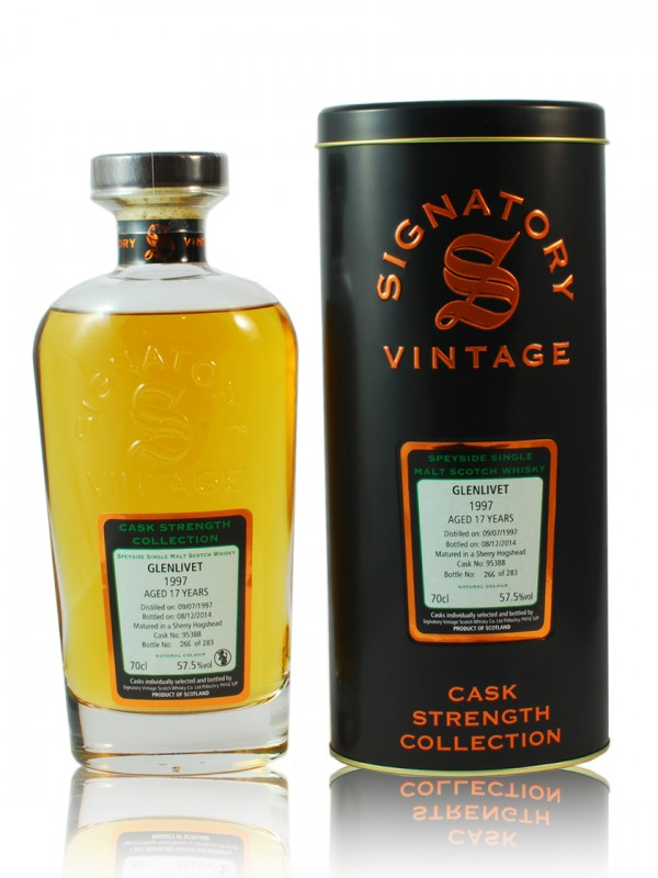 Glenlivet 17 Jahre 1997 1st fill sherry butt CS Signatory