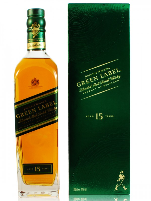 Johnnie Walker Green Label 15 Jahre