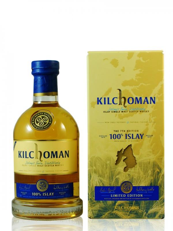 Kilchoman 100 % Islay