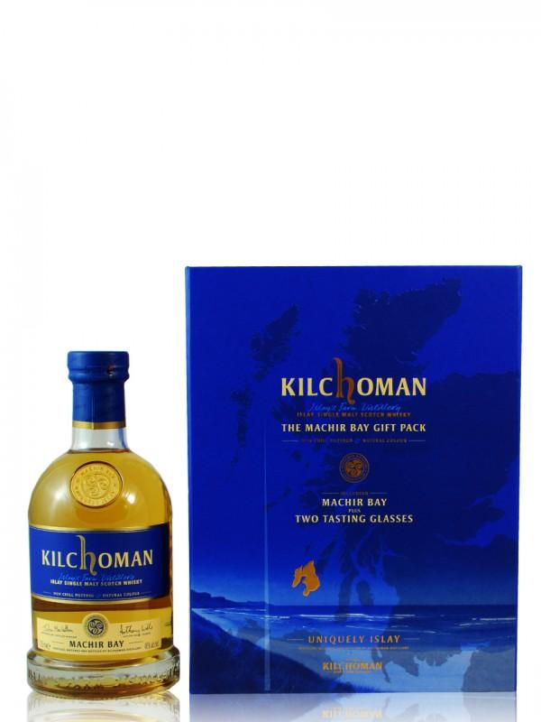 Kilchoman Machir Bay Set mit 2 Nosinggläsern