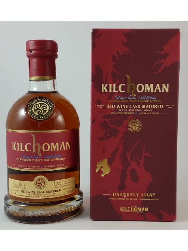 Kilchoman Red Wine Cask Matured 5 Jahre