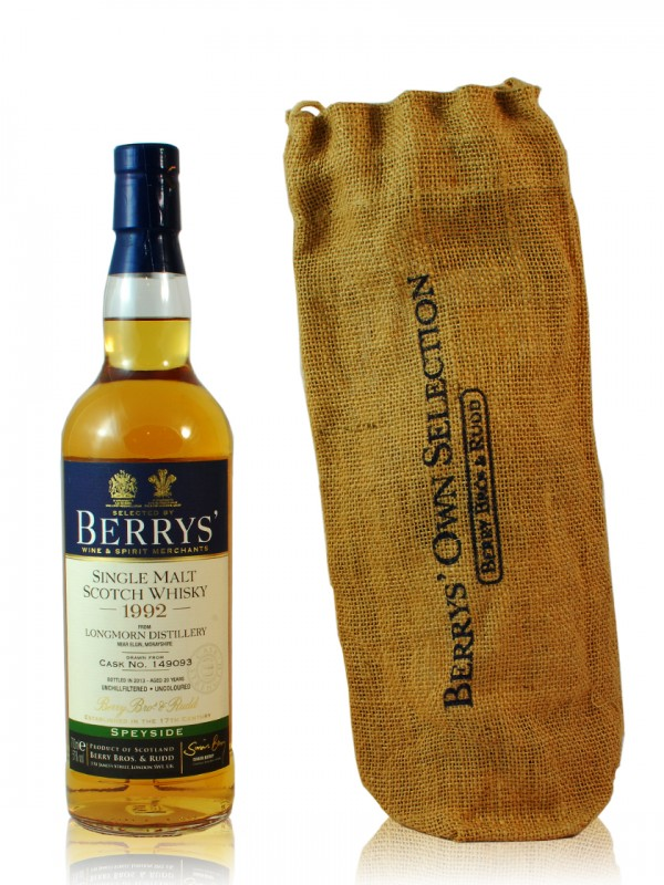 Longmorn 20 Jahre 1992 Berry Brothers