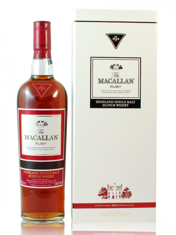 Macallan Ruby 1824 Sherry Cask