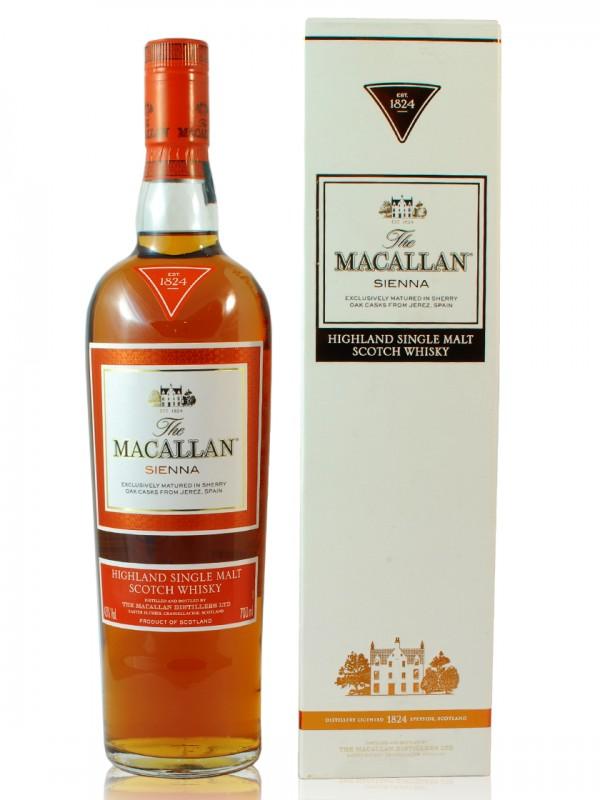 Macallan Sienna 1824 Sherry Cask