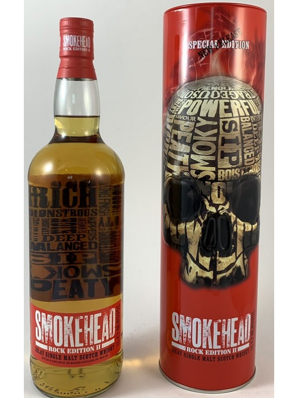 Smokehead Rock Edition II 1l