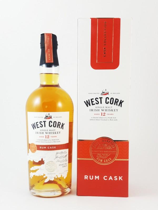 West Cork 12 Jahre Rum Cask