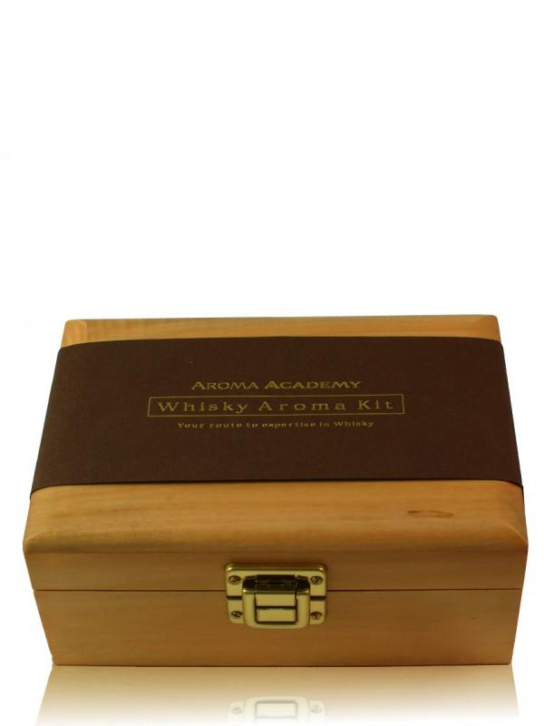 Aroma Academy Whisky Nosing Kit in hochwertiger Holzbox